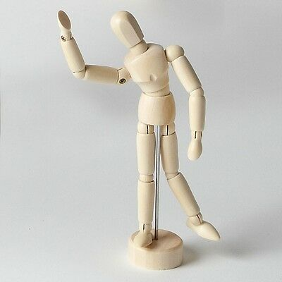 "5.5""(140mm) ARTISTS MANIKIN WOOD LAY FIGURE - RRP £9.99"