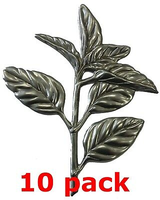 "Metal Stampings Leaf Leaves Plants Trees Stem Decor STEEL .020/"" Thickness L100"