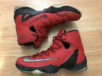 los angeles 73397 878f5 Nike Lebron James 13 XIII Elite University Red Black Men s Size 9.5
