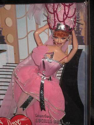 1996 I LOVE LUCY Barbie Doll Lucy Gets in Pictures  Episode 116  #J0878  NRFB