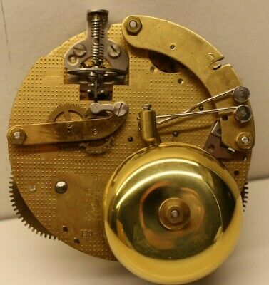 NOS  FHS Franz Hermle & Sons 130070 130 070 8 Day Two Hammer Bell Clock Movement