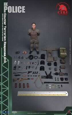 Soldier Story 1/6 SS116 HK POLICE - CTRU Tactical Medic Soldier Figure Toys Gift