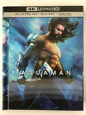 Aquaman (4K Ultra HD Disc ONLY) w/ TARGET EXCLUSIVE BOOK/CASE! SEE DETAILS!
