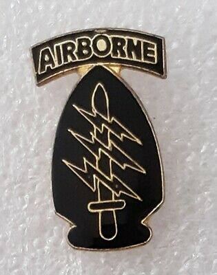 1st Special Forces Command Airborne US Army Special Operations Command lapel pin