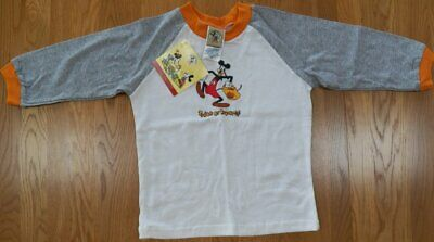 NWT Disney GOOFY as Mickey Mouse HALLOWEEN~Boys L/S Shirt Size 3T
