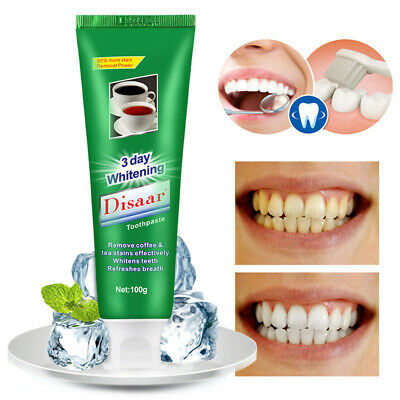 Mint Toothpaste Oral Care Refreshing Breath Tea and Coffee Stains