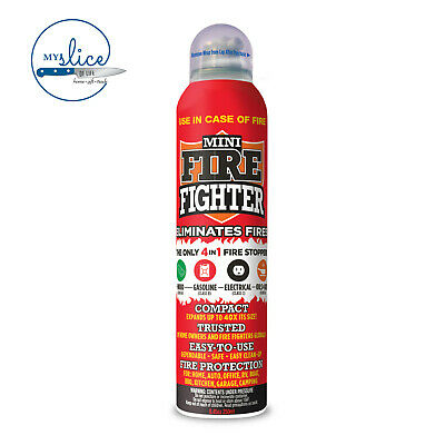 The Mini Firefighter 4 in 1 Fire Extinguisher 250ML- Wood, Petrol, Electrical