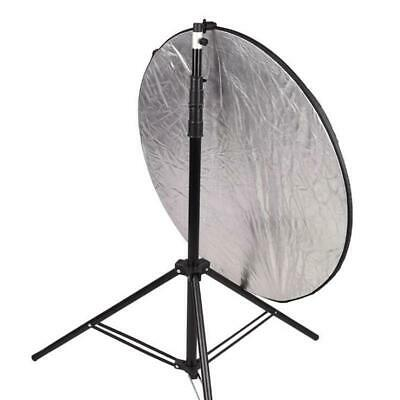 Collapsible Reflector Background Holder Clip Studio Swivel Light Stand HD