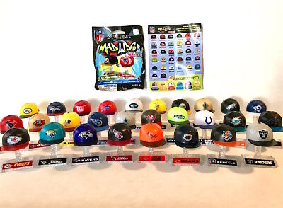 "2017 Series 2 NFL MAD LIDS 1"" Collectible Mini Caps (Your Choice) Football Hats"