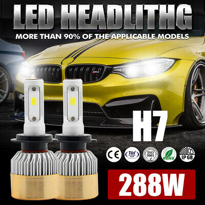 9003 H4 1150W 172500LM LED Headlight Kit Conversion Globes Bulb Hi-Lo Beam 6500K