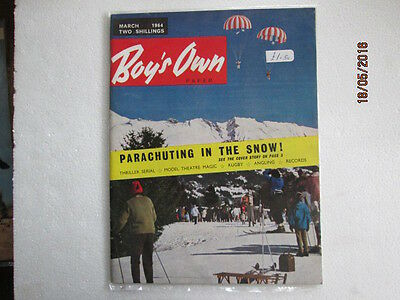 Vintage Boys Own Paper From March 1964 Very Good Used