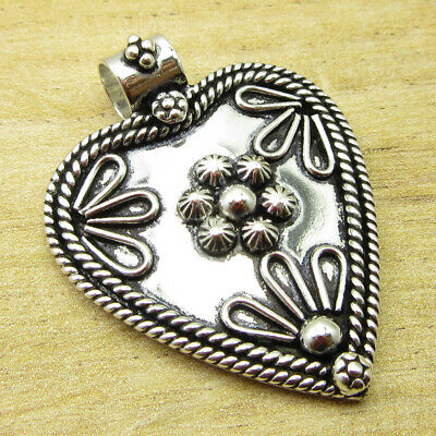 """ANCIENT STYLE Pendant 1.6"""" Everyday Wear ! Silver Plated Jewellery ONLINE STORE"""