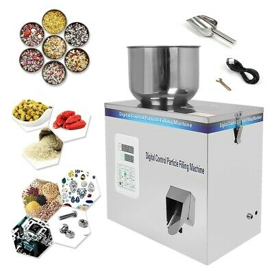 Hot 2-100g Powder Particle Subpackage Device Spices Weighing And Filling Machine