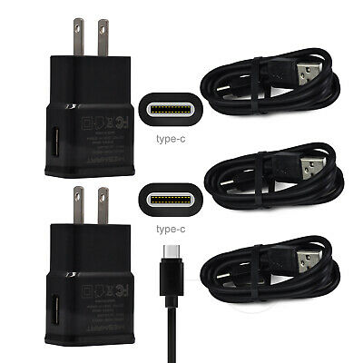 For Samsung Galaxy S10e S9 S8 S10 Plus Note9 8 Cell Phone Home Wall Charger Cord