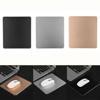 Double Sided Non-slip Aluminum Alloy Gaming Mouse Pad Mat Mousepad for PC Laptop