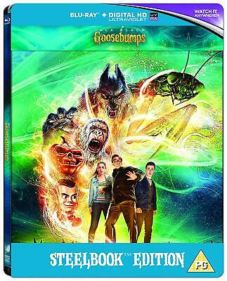 Goosebumps - Steelbook Edition Blu Ray 3D 2D+Digital HD+UV New sealed  UK