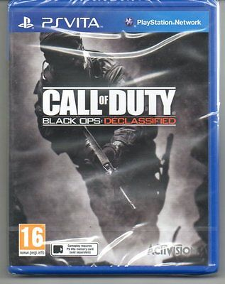 Call Of Duty Black Ops Declassified   'New & Sealed' *PS VITA*