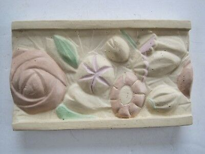 Moulded Floral Border Tile