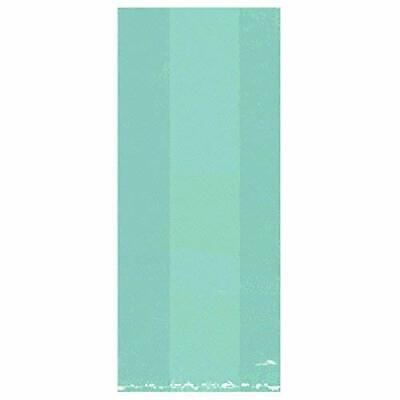 Amscan 25: Robin Egg Blue Small Party Bags