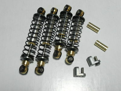 For TAMIYA Buggy Champ/Sand Scorcher shock set with spring and rubber bushing.