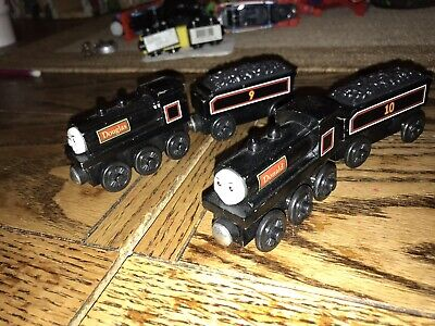 Wooden Donald And Douglas For Thomas And Friends Wooden Rare Scottish Twins