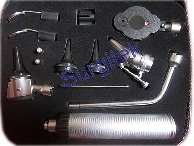 Posh Opthalmoscope Ophthmoscope ENT Diagnostic Set CE + 2 FREE BULBS