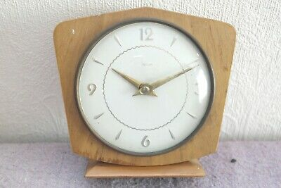 Smiths Clocks & Watches Retro 1940s Mantel Clock. Fully Working