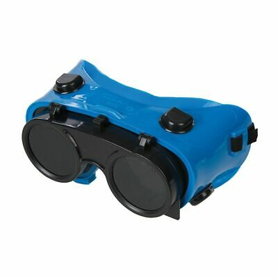 Front Flip Welding Goggles Welders Goggle Eye Protection Weld ABS Lens Protect