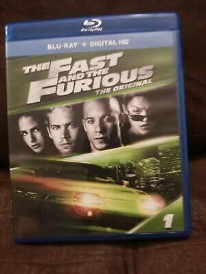 The Fast And Furious [New Blu-ray] Digitally Mastered In Hd NO Digital