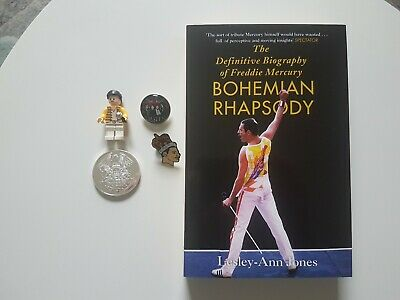 Freddie Mercury Biography Figure ,badges And Coin