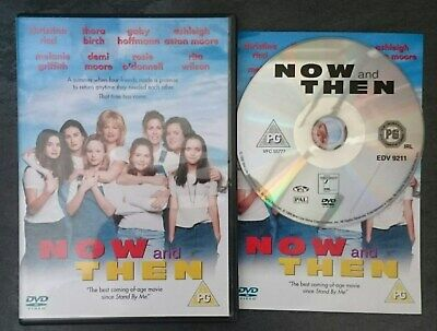 NOW AND THEN (1996) (Rare UK DVD, Christina Ricci, Melanie Griffith, Demi Moore)