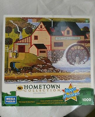 Hometown collection Mega puzzles 1000 pieces art of Heronim Old Cider Mill