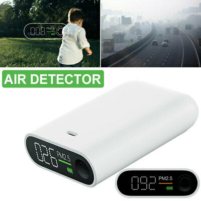 6D10 ABS Smog Detector PM2.5 Air Detector Practical Smog Measuring Instrument