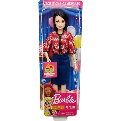 Barbie 60th Anniversary Career Doll - I Can Be A Political Candidate