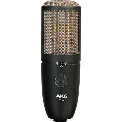 AKG Project Studio P420 Multi-Pattern Large-Diaphragm Condenser Microphone