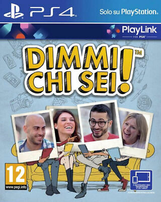 DIMMI CHI SEI,Party Game,PLAYSTATION 4,PS4,Italiano,VOUCHER,NO Bluray