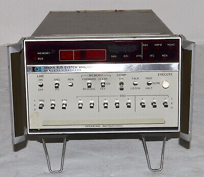 HP 59401A Bus System Analyzer *Used, Power-on Tested* Hewlett Packard