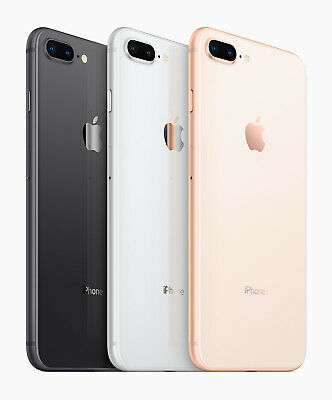 Brand New Apple iPhone 8 Plus 64GB 256GB for Sprint Gray Silver Gold
