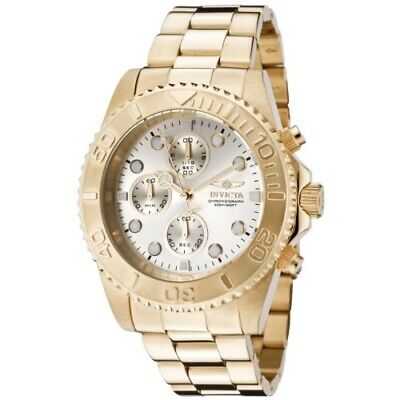 Invicta Pro Diver Chronograph Champagne Dial Men's Watch 1774