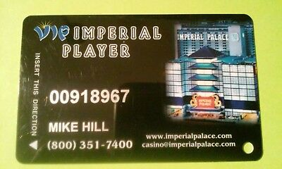 Imperial Palace Hotel Casino Las Vegas Nevada Slot Card Great For Any Collection