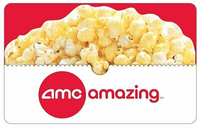 AMC Theatre Gift Card - $25 to $100