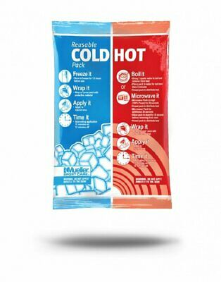 Mueller Reusable Cold-Hot Pack, White, 6 Inch X 9 Inch 6PK