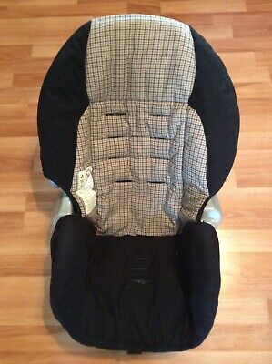 Cosco Evenflo Toddler Convertible Car Seat Cover Cushion Part Black Beige