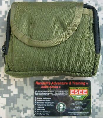 ESEE Advanced Survival & FIrst Aid Pocket Kit with OD Green Nylon Pouch