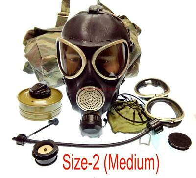 Military Russian Army Soldier GAS MASK PMK-3 Mask Filter Bag Size-2 Uniform