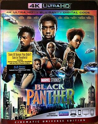 Black Panther (4k or Bluray) -Buy Any Part- READ DESCRIPTION!!