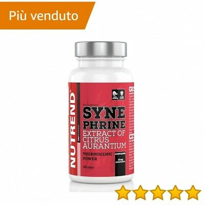 Nutrend SYNEPHRINE | SINEFRINA THERMOGENIC POWER 60 CPR > thermogenici