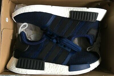 9201157f9 Adidas NMD R1 Mystery Blue Collegiate Navy New Men DS DEADSTOCK Size 8.5  BY2775