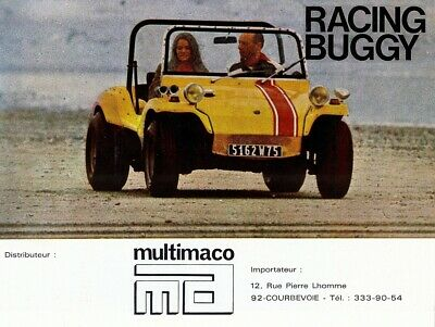 "APAL ""Racing Buggy"" - VW engine - 1971 - French sales brochure, catalogue"