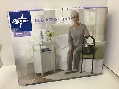 Bedrail Bed Cane Stand Assist Bar Medical Handle Elderly Rail Support Safety